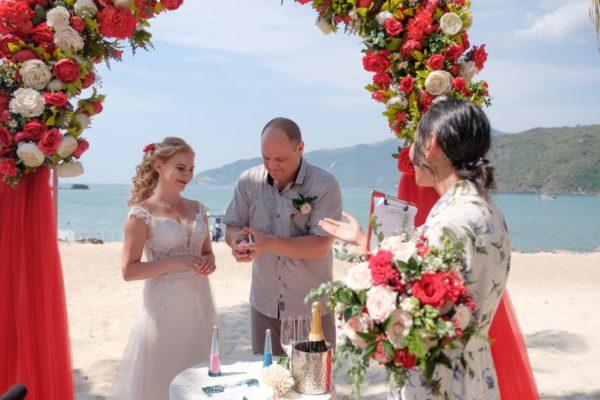 свадебная церемония в Муйне
